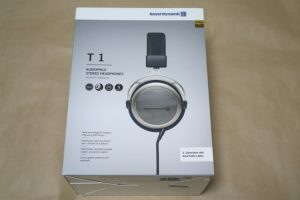 beyerdynamic T1 2nd Generationのパッケージ