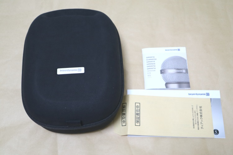 beyerdynamic T1 2nd Generationの製品内容
