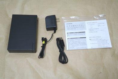 4TBの外付けHDD IODATA HDC-LA4.0のレビュー