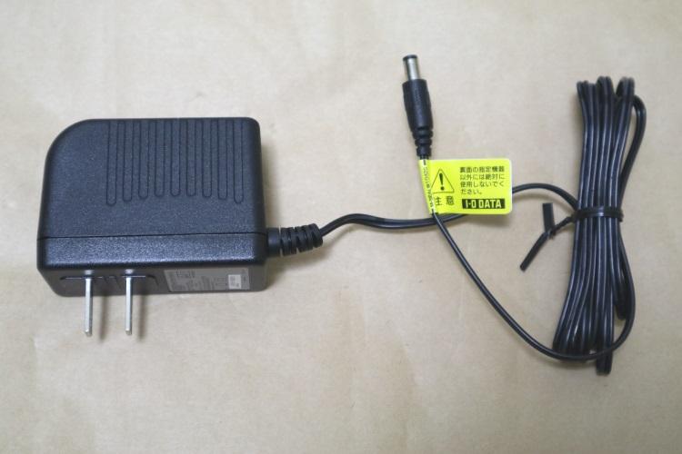 IODATA HDC-LA4.0のACアダプター