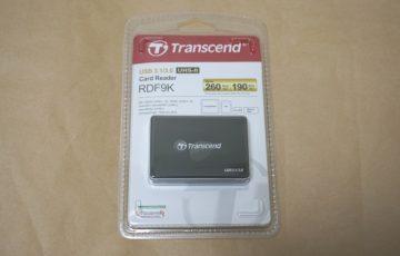 Transcend RDF9のパッケージ
