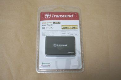 UHS-II対応SD・microSD・CF・MSカードリーダー Transcend RDF9のレビュー