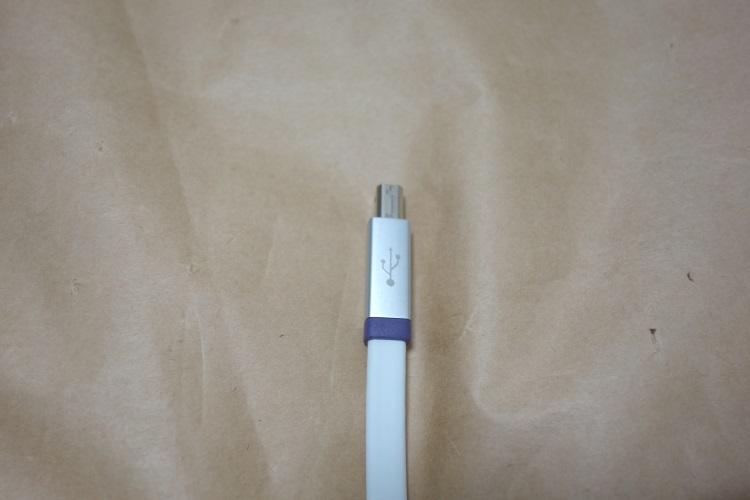 オヤイデ d+USB classS rev.2本体(Type B側)