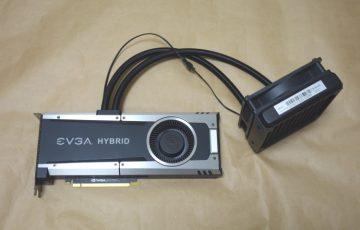 EVGA GTX 1080 Ti FEに400-HY-5388-B1-02を取り付けた様子