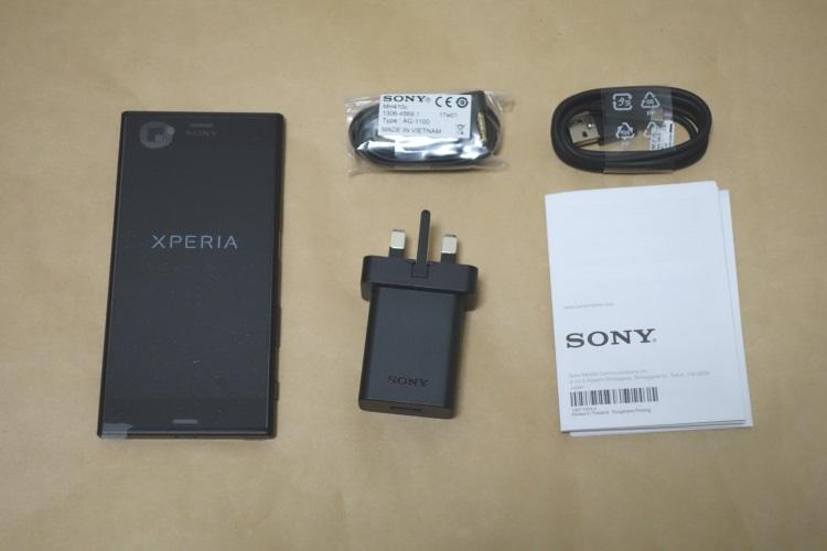 SONY Xperia XZs G8232の製品内容(付属品)