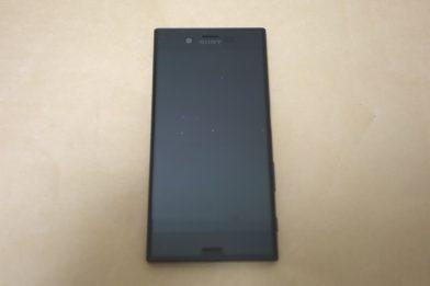 SIMフリースマホ SONY Xperia XZs G8232のレビュー