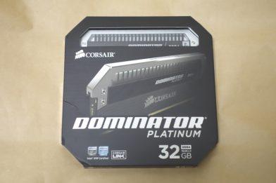 DDR4 32GBメモリキット CORSAIR CMD32GX4M2B3000C15のレビュー