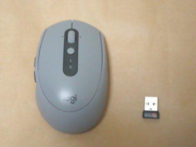 小型静音ワイヤレスマウス Logicool M590のレビュー