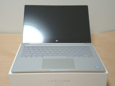 Xiaomi Notebook Air 13.3 指紋認証対応モデルのレビュー