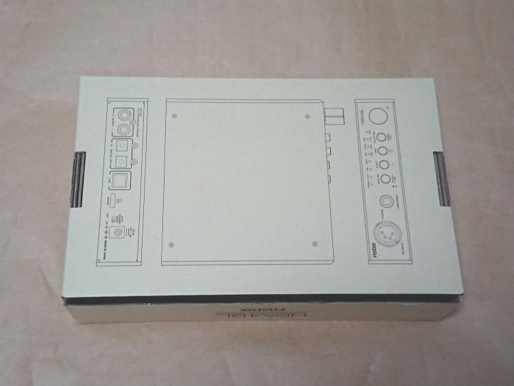 FOSTEX HP-A4BLのパッケージ(裏側)