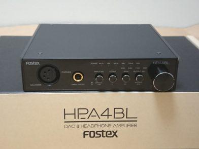 バランス出力対応のDAC内蔵ヘッドホンアンプ FOSTEX HP-A4BLのレビュー