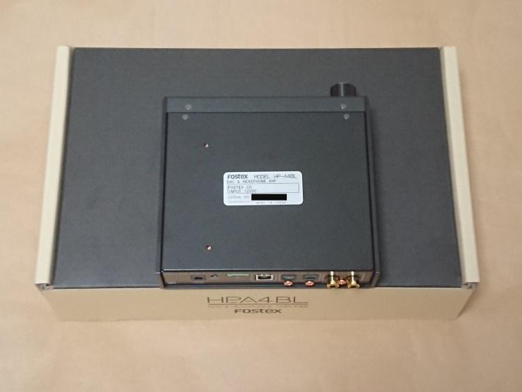 FOSTEX HP-A4BL本体底面の様子