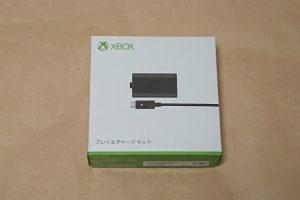 Xbox One プレイ & チャージ キットのパッケージ