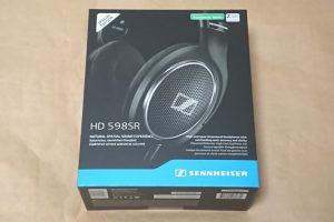 ゼンハイザー HD 598 SRのパッケージ