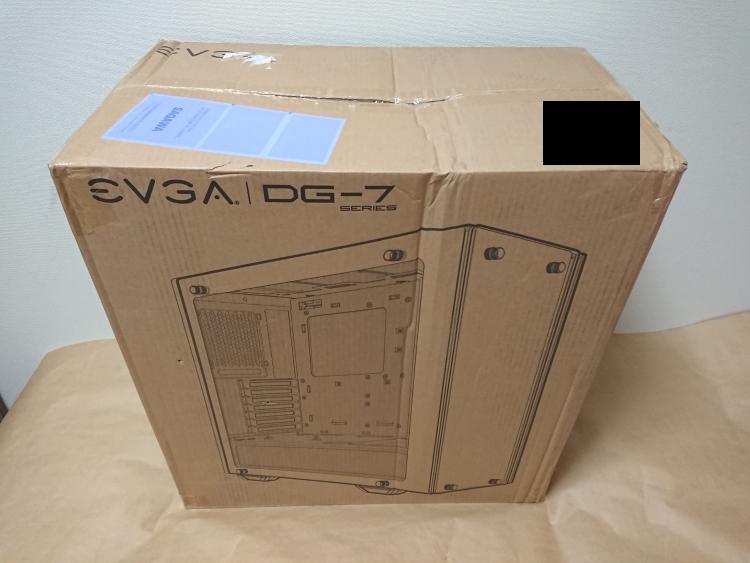 EVGA DG-75のパッケージ