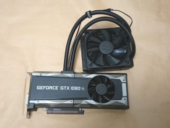EVGA GeForce GTX 1080 Ti SC2 HYBRID本体