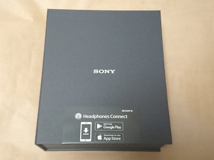 SONY WH-1000XM2の内箱