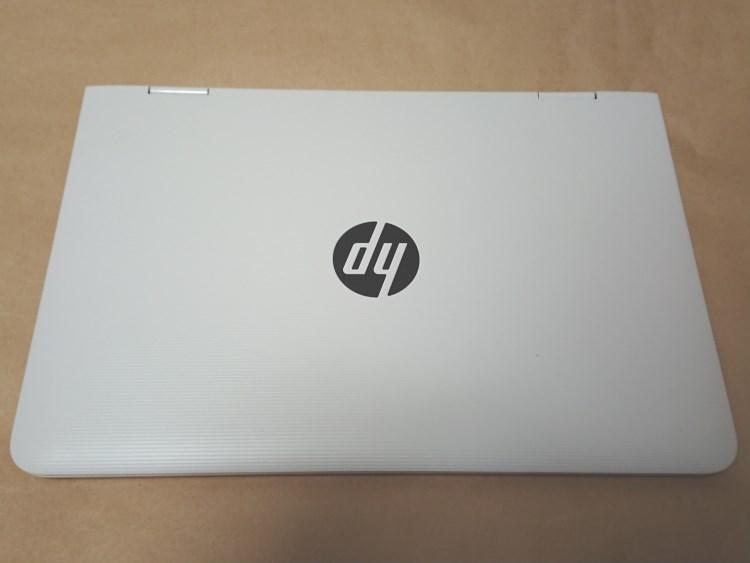 HP x360 11-ab051TU本体天板