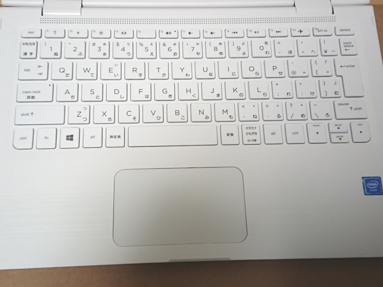 HP x360 11-ab051TUのキーボード