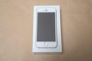 Apple iPhone SE 2017本体正面