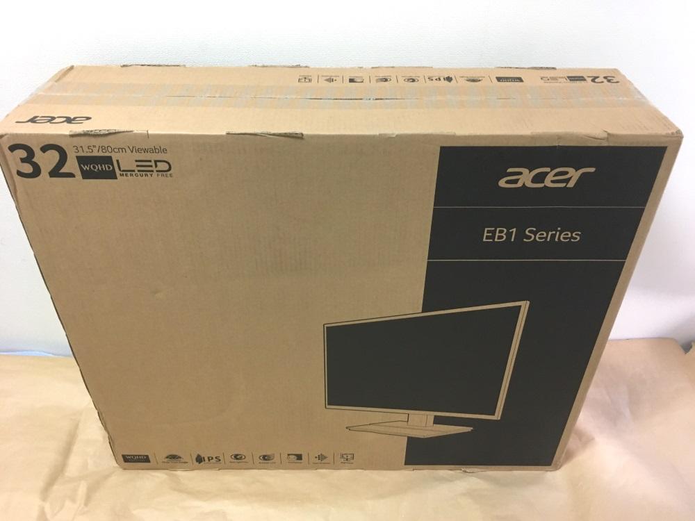 Acer EB321HQUBbmidphxのパッケージ