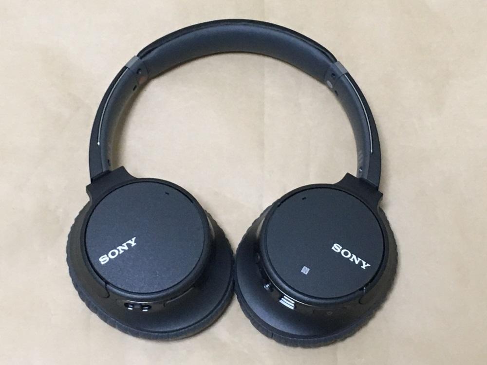 SONY WH-CH700N本体(外側)