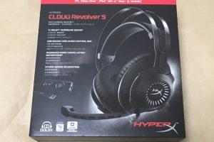 キングストン HyperX Cloud Revolver Sのパッケージ