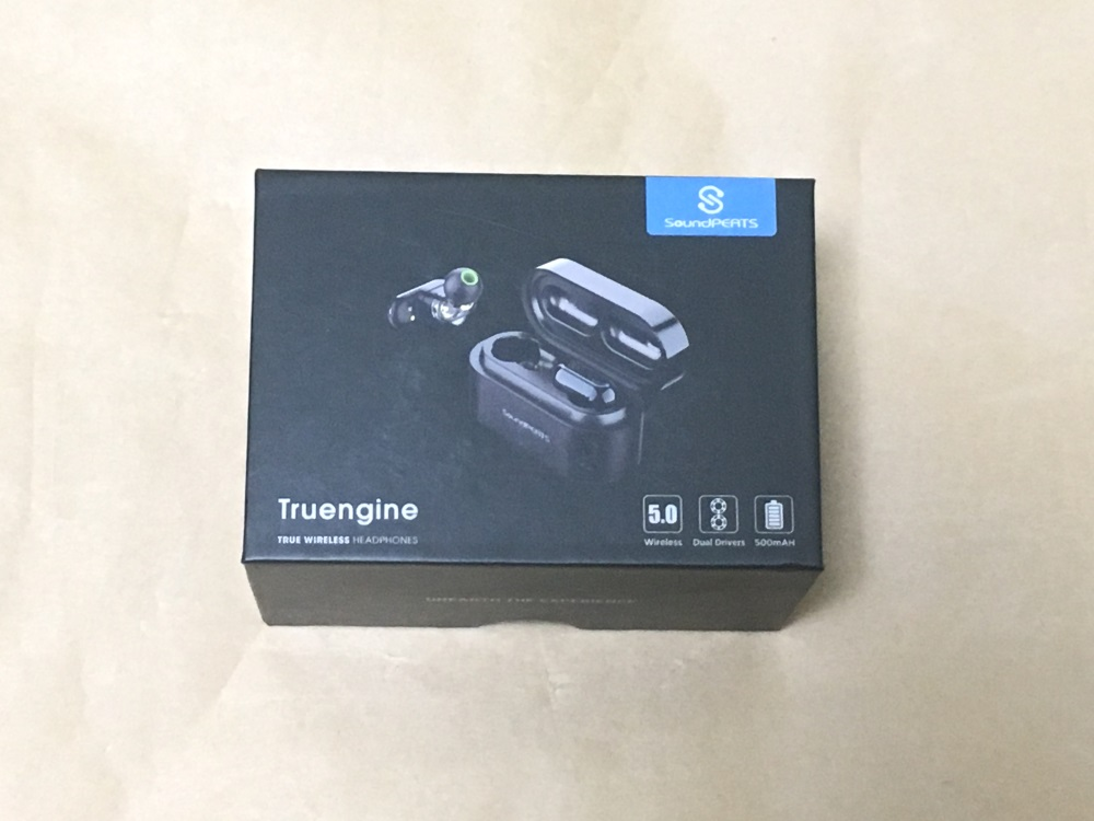 SoundPEATS Truengine Bluetoothイヤホン Q42のパッケージ