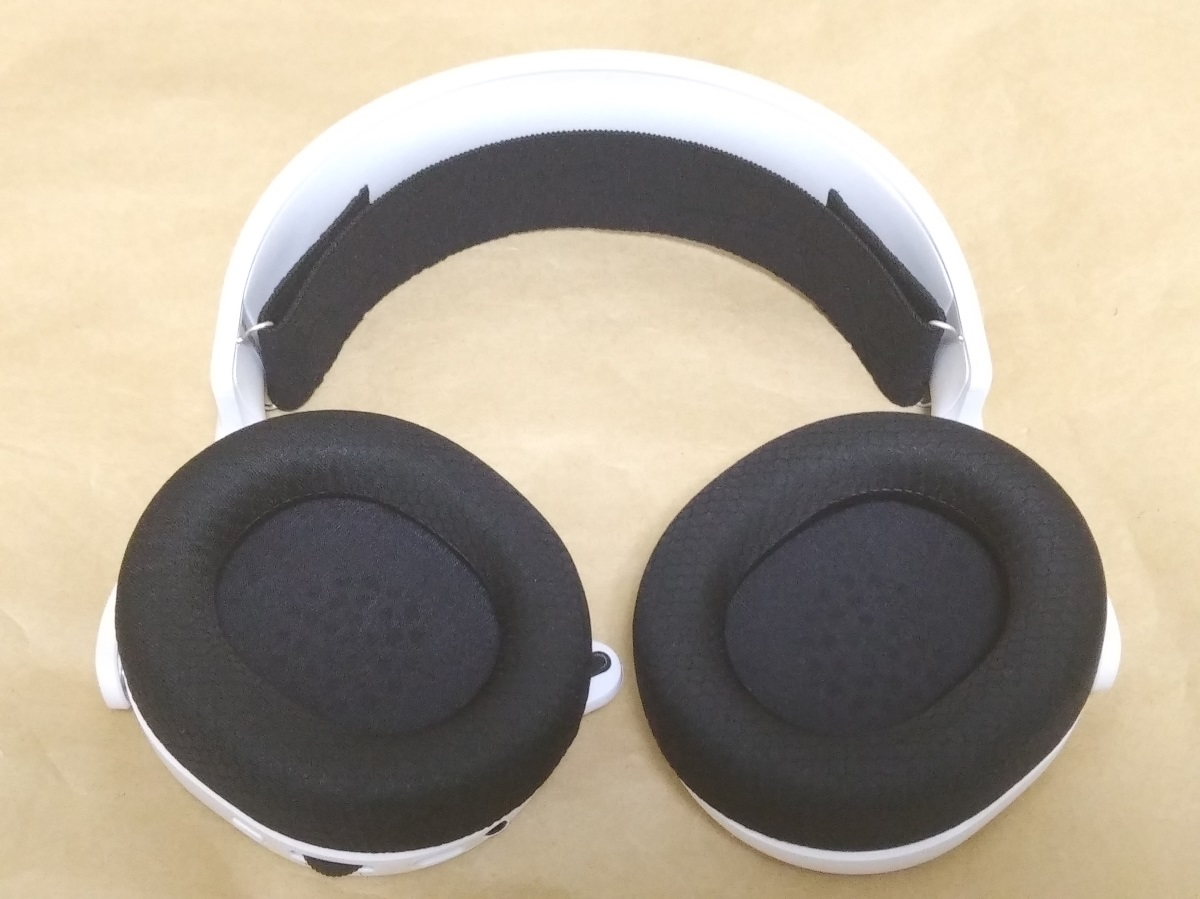 SteelSeries Arctis 3 2019 Edition本体内側