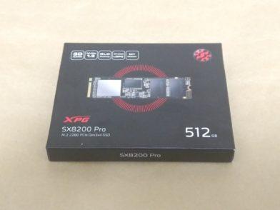 ADATA XPG SX8200 Pro ASX8200PNP-512GT-Cのレビュー