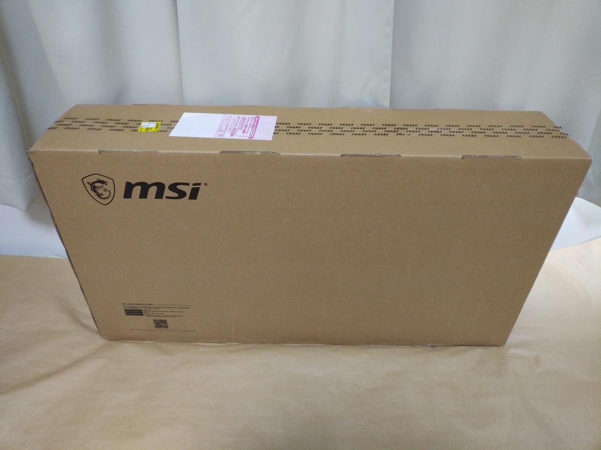 MSI Optix MAG341CQの外箱