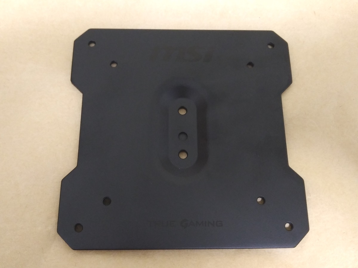 MSI Optix MAG341CQ向けのVESAアダプター(AG242M5)