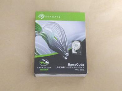 Seagate BarraCuda 8TB ST8000DM004をレビュー!2年保証の内蔵HDD