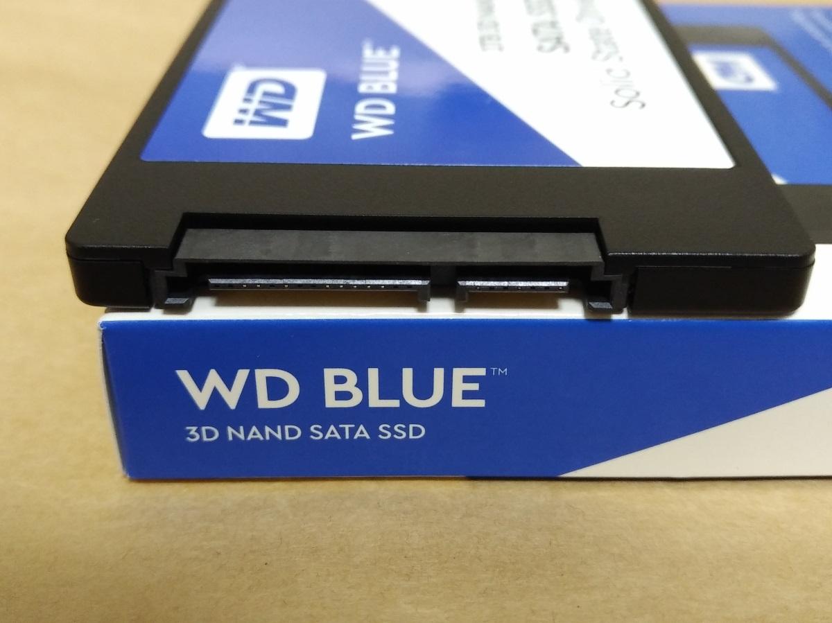 WESTERN DIGITAL WD Blue WDS100T2B0AのSATA端子