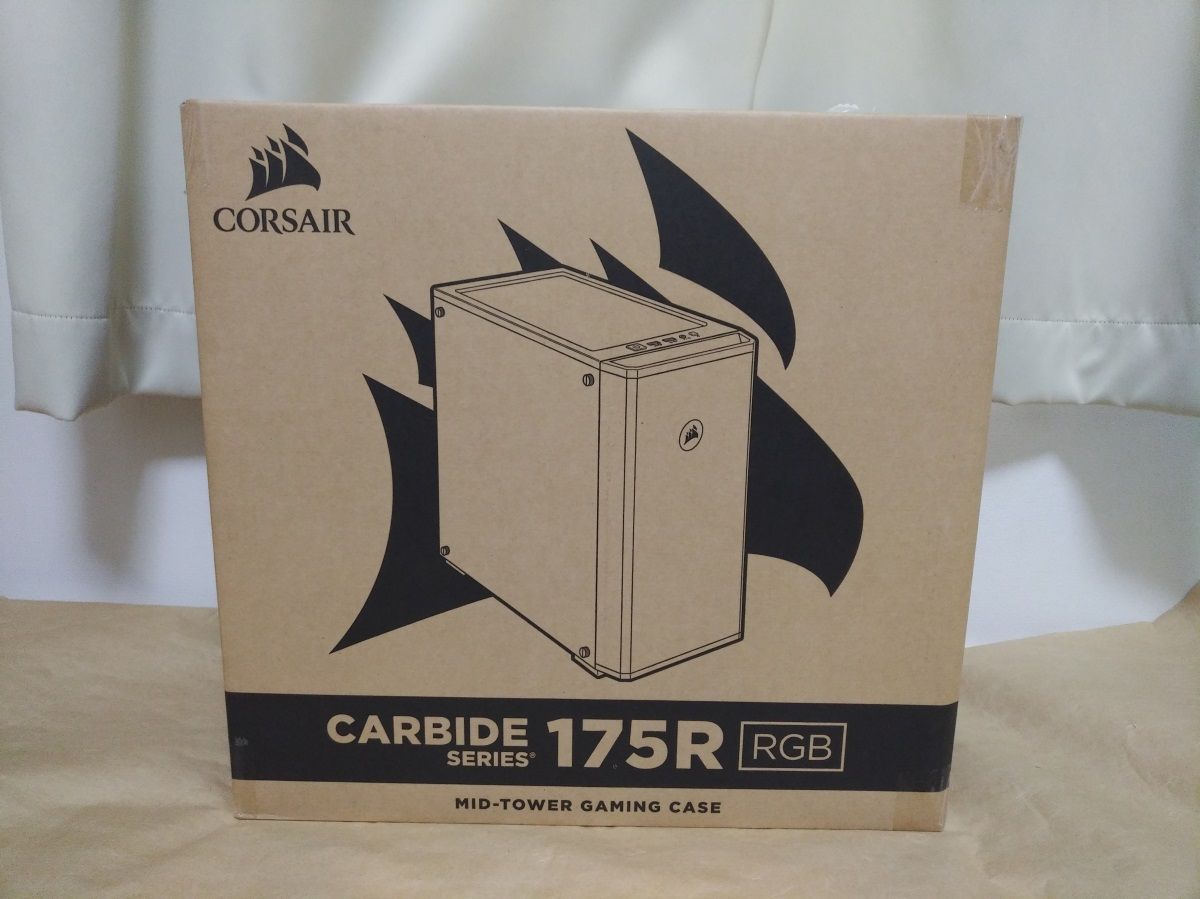 Corsair Carbide 175R RGBのパッケージ正面