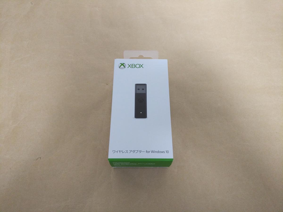 Xbox ワイヤレス アダプター for Windows 10(6HN-00008)のパッケージ