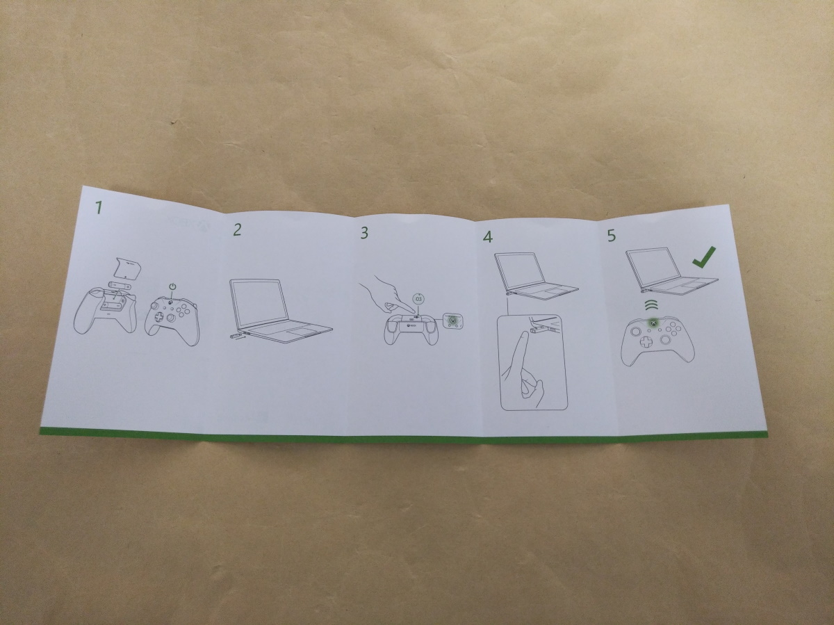 Xbox ワイヤレス アダプター for Windows 10(6HN-00008)の接続マニュアル