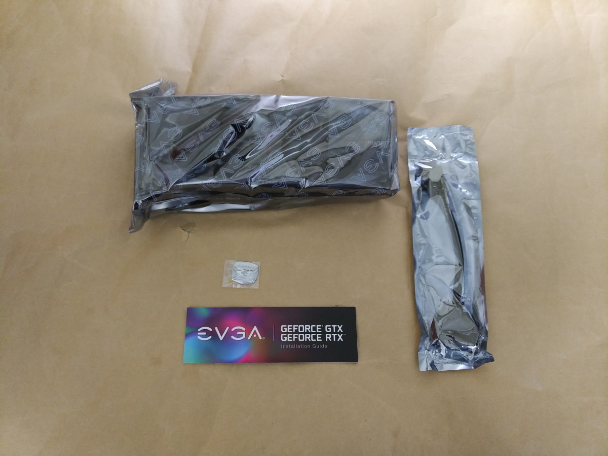 EVGA GeForce RTX 2080 SUPER XC ULTRAの製品内容(付属品)