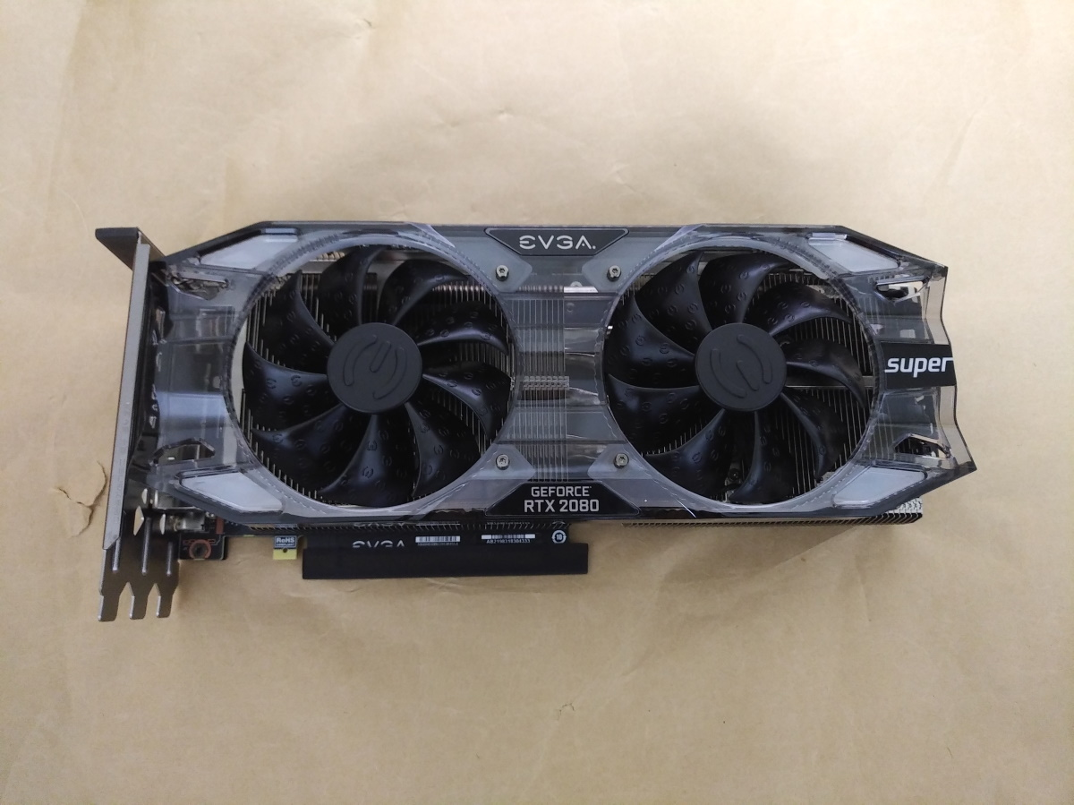 EVGA GeForce RTX 2080 SUPER XC ULTRA(保護シール無し)