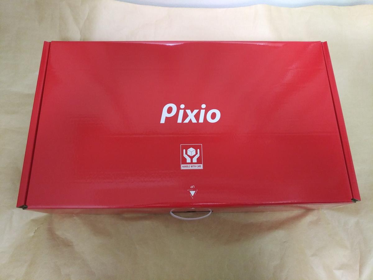 Pixio PX7 Primeのパッケージを寝かせた様子