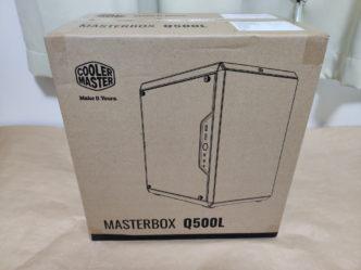 クーラーマスター MasterBox Q500Lのパッケージ