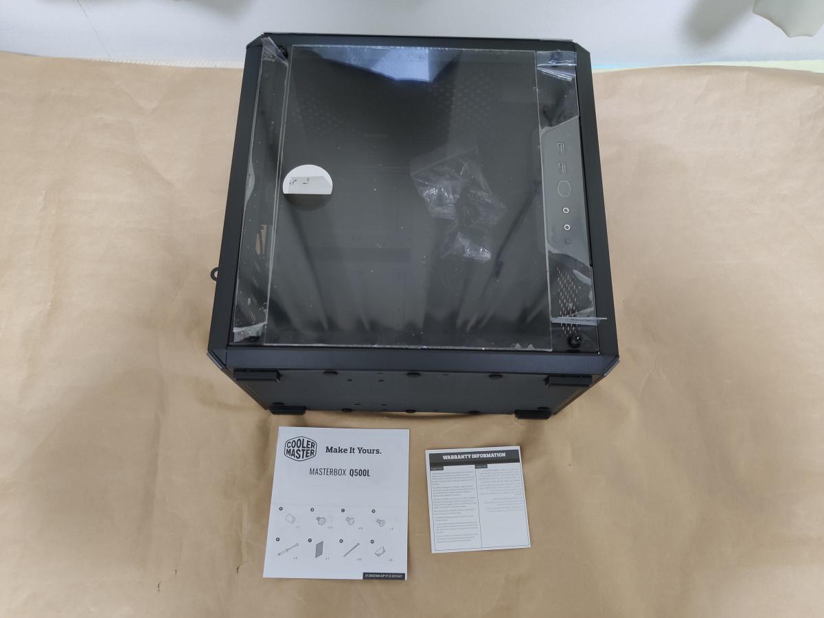 クーラーマスター MasterBox Q500Lの製品内容(付属品)