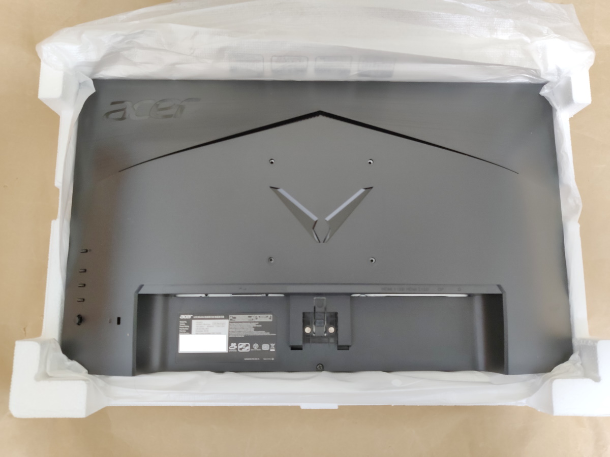 Acer VG240YSbmiipx本体背面