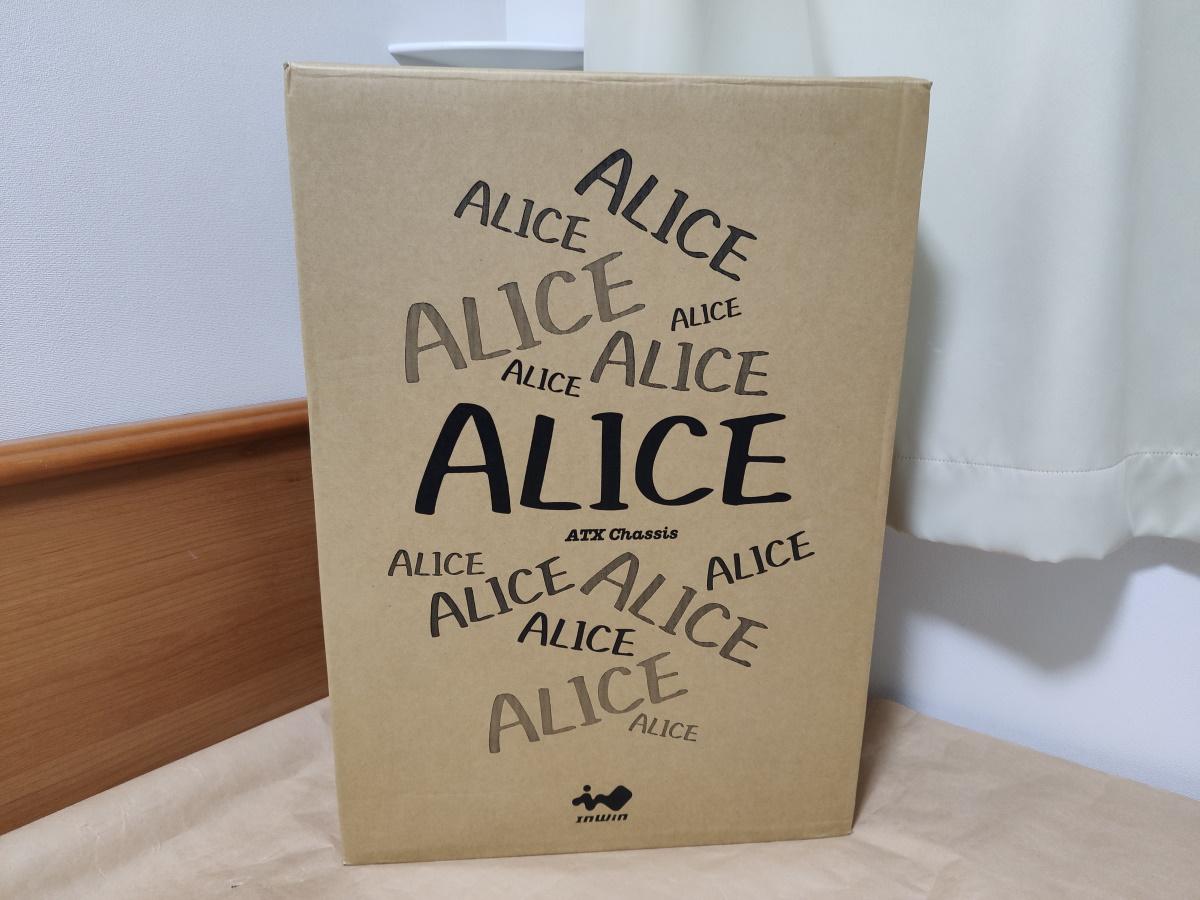 InWin ALICEのパッケージ