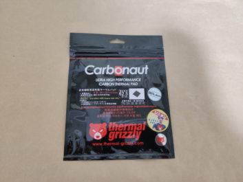 Thermal Grizzly Carbonautのレビュー!CPU・GPU向けの熱伝導シート