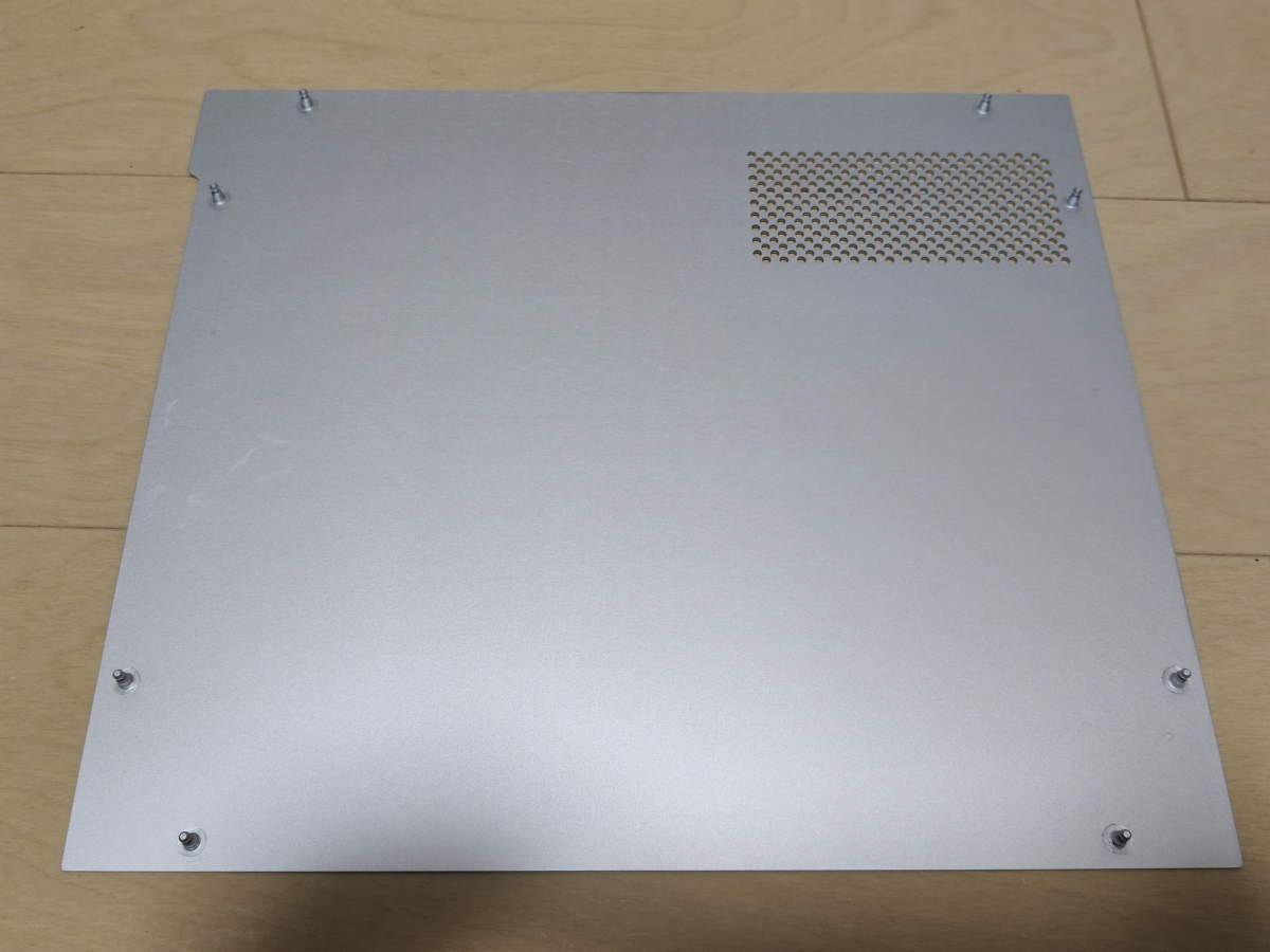 Lian Li TU150の右サイドパネル内側の様子