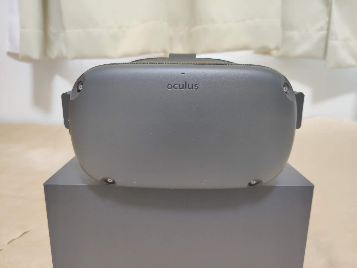 Oculus Quest本体を正面から見た様子