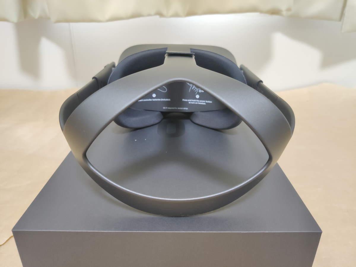 Oculus Quest本体を後ろ側から見た様子