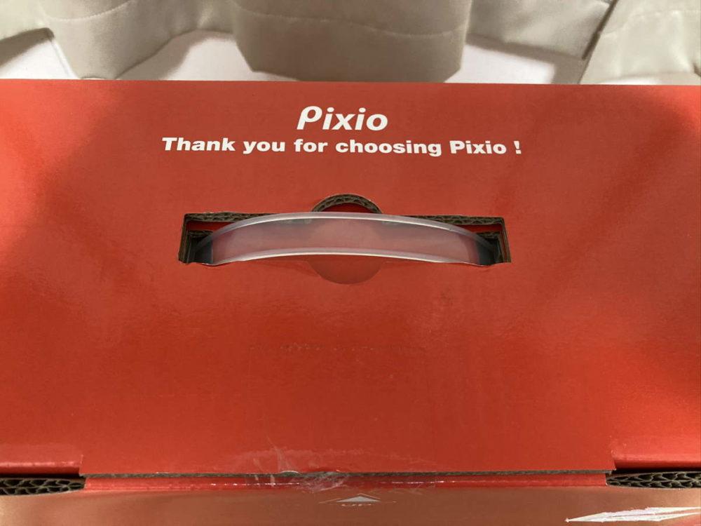 Pixio PX277 Prime(PX277P)のパッケージにある取っ手