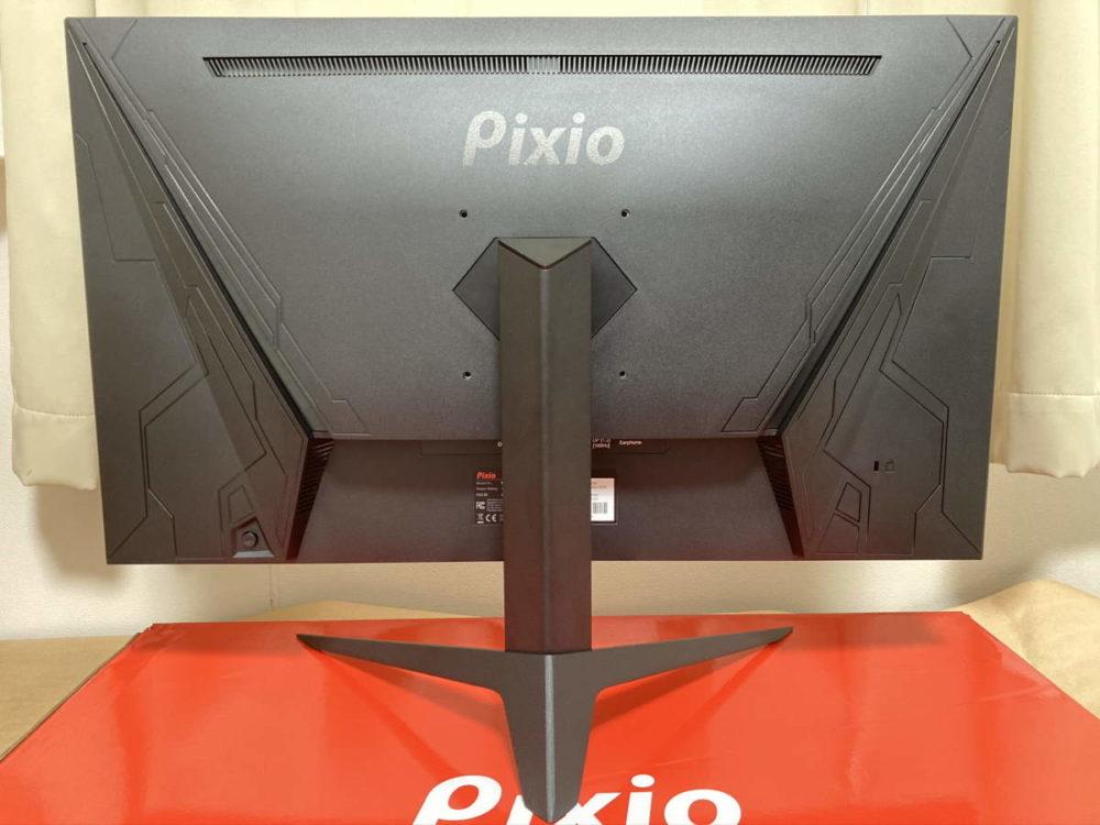 Pixio PX277 Prime(PX277P)の背面の様子